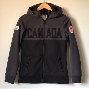 HBC Olympics Softshell Jacket Team Canada - XS